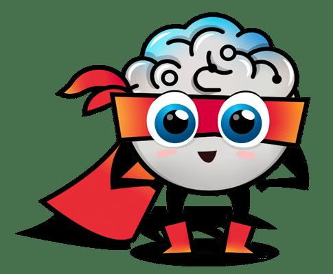 superbrain mascot